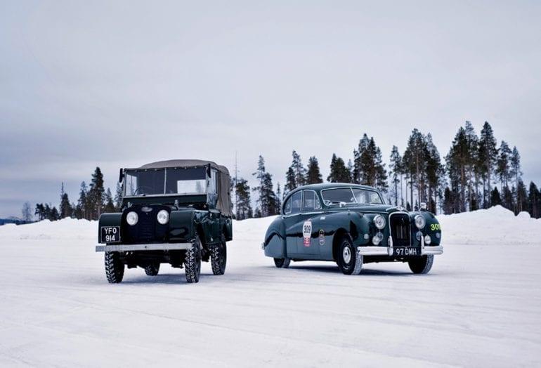 Jaguar Land Rover Inaugura Academia De Direção No Gelo Na Lapônia