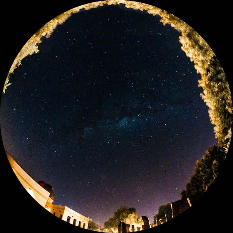 Observação do céu no Centro de Estudos do Universo